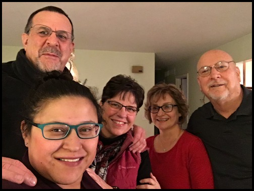 Family Christmas photo 12/25/18