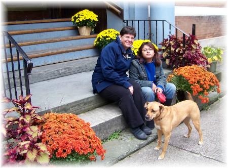 Family in Jim Thorpe, PA
