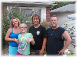 Greta, Dean and family 7/8/13