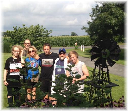 Family visit 7/17/15