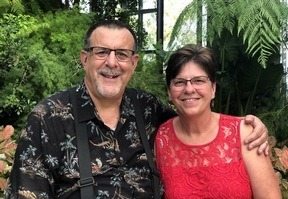 Stephen and Brooksyne Weber at Longwood Gardens 8/10/19