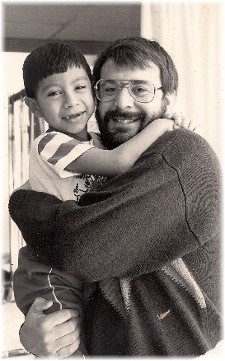 Marvin with Stephen (1989)