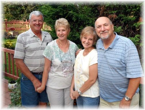 Richard & Pat Mayberry, Pat & Laverne Weber 9/14/12
