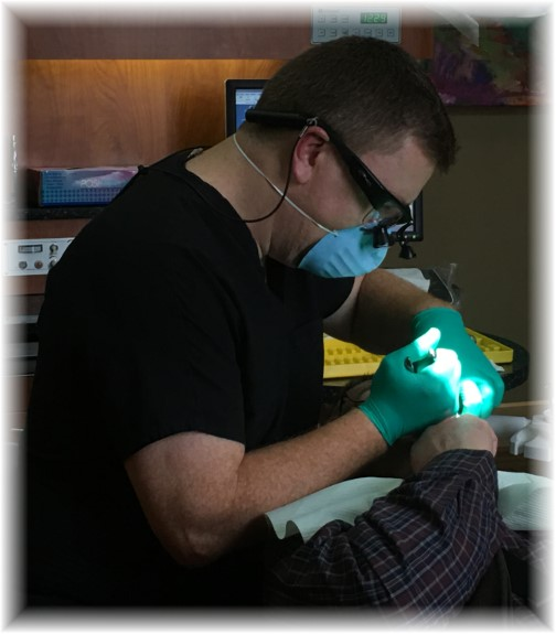 Dr Dinse and molar extraction 1/20/16