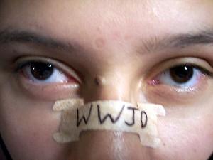 WWJD nasal strip