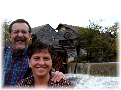 Our photo taken at the Old Mill Inn in Pigeon Forge TN (11/10)