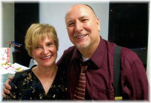 Pat and Laverne Weber portrait photo