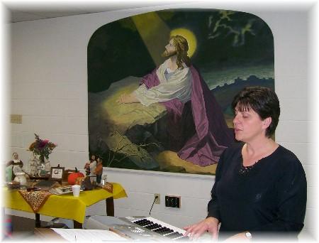 Photo of Brooksyne Weber as pilgrim