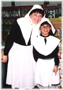 Brooksyne and Ester Pilgrim presentation c1997