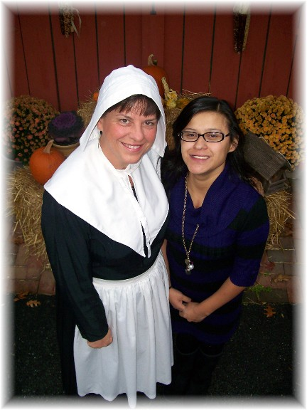 Brooksyne and Ester Pilgrim presentation 2010