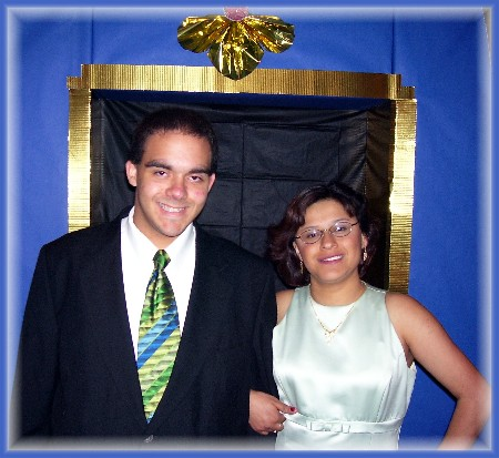 Ester at 2008 prom