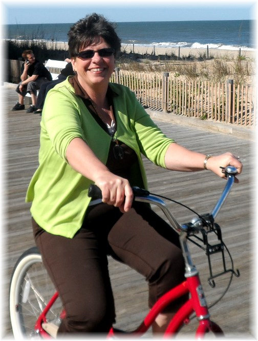 Rehoboth Beach boardwalk bike ride 5//12/13