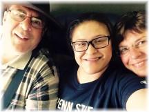 Reunion with Ester in San Antonio 3/17/15
