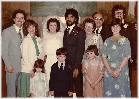 Wedding photo for Cesar & Genelle Sankarsingh 3/29/80