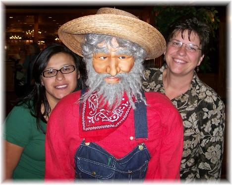 Ester & Brooksyne with Shady Maple hillbilly 10/7/10