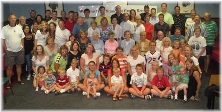 Steincross family at 2009 reunion