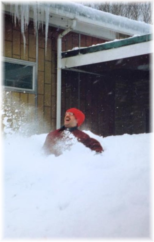 Blizzard jumping in Taunton, MA in mid-nineties