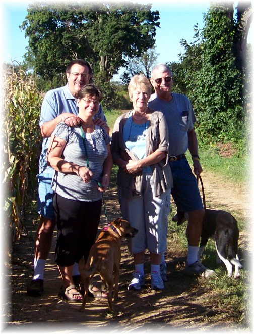 Trail walk with Richard & Pat Mayberry 9/15/12