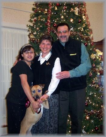 Weber family 12/07