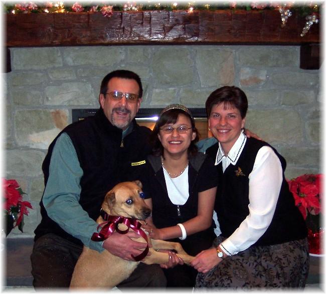 2007 Weber family Christmas photo