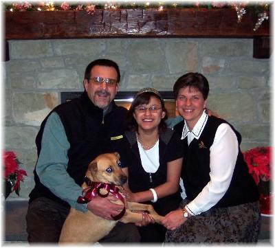 2007 Weber family photo