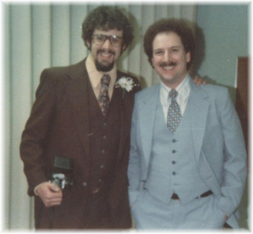 Weber brothers in 1980