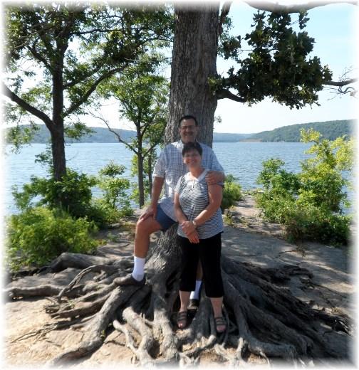 Stephen & Brooksyne Weber, Fort Gibson Lake
