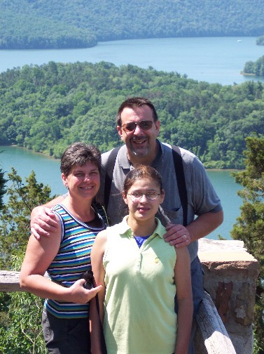 Weber family at Raystown Lake (2006)