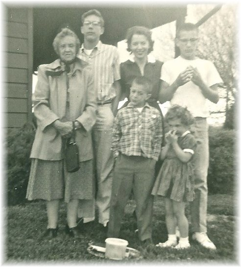 Stephen's family around 1963