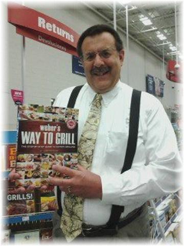 Weber grilling book