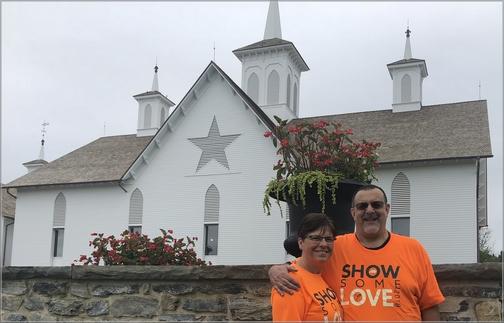 Star Barn near Elizabethtown, PA 9/15/18 (Click to enlarge)