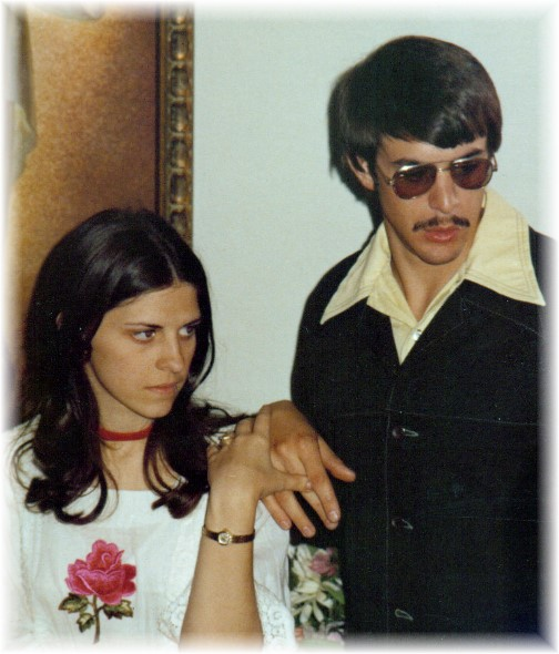Wedding reception 5/8/76
