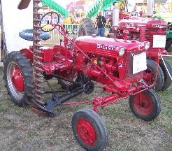 Photo of Farmall tractor