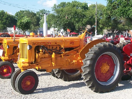Antique tractors at Indiana State Fair