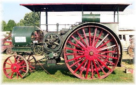 Aultman Taylor tractor at Indiana State Fair