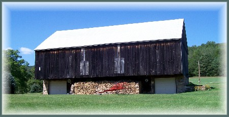 Bank barn in Franklin County PA