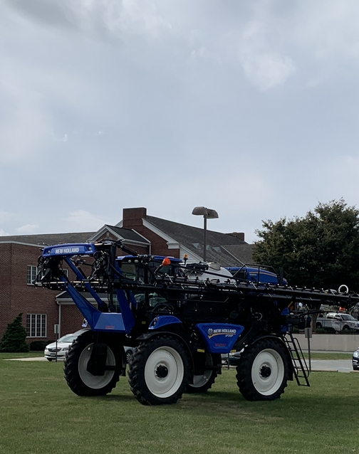 Sprayer at Curt's funeral 10/13/19
