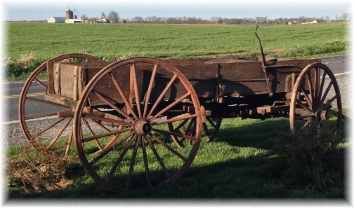 Donegal Springs road buckwagon 4/24/14