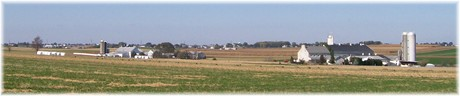 Farms in eastern Lancaster County