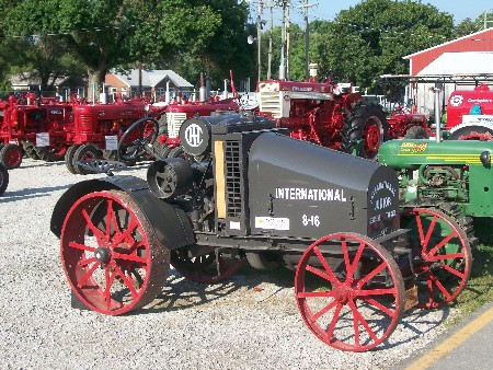 International tractor at Indiana State Fair