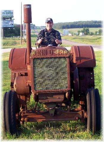 1938 John Deere D tractor