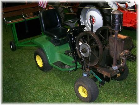 Lawn tractor at Manheim Farm Show