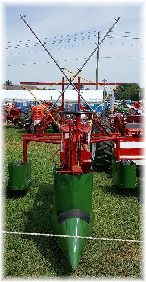 Mystery farm implement at Etown Fair 8/27/16