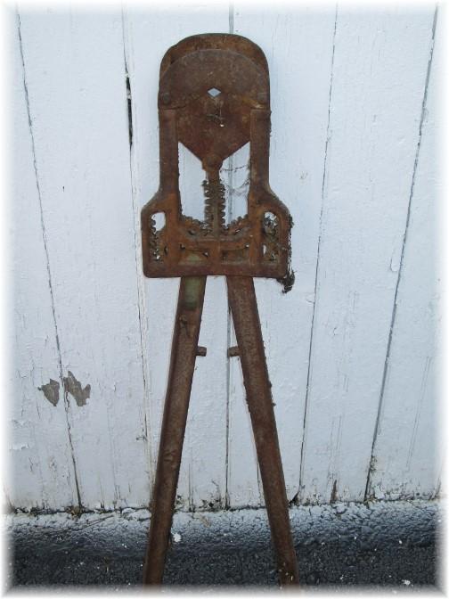 Mystery farm tool
