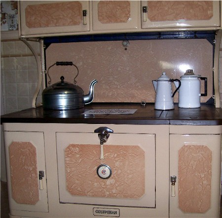Porcelain cook stove