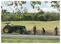 Removing field rocks