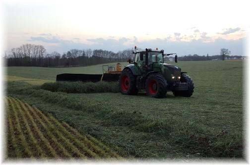 Rye Harvest on Kraybill Church Road 04/25/16
