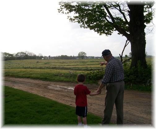 Rye harvest 4/27/11