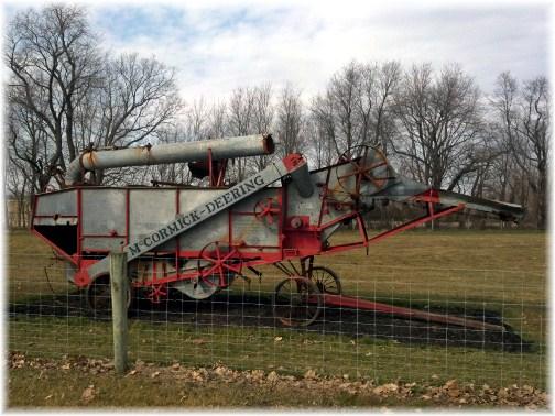 McCormick-Deering Threshing machine near Lancaster Junction Trail near Mount Joy, PA