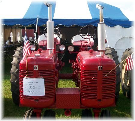 Twin Farmall C tractor(s)